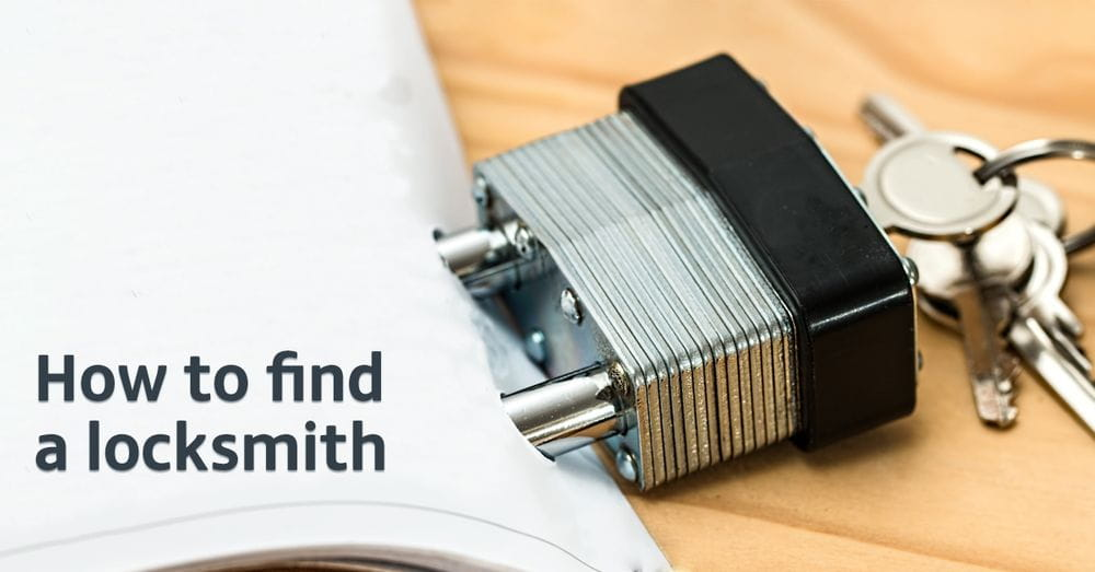 How to find a locksmith