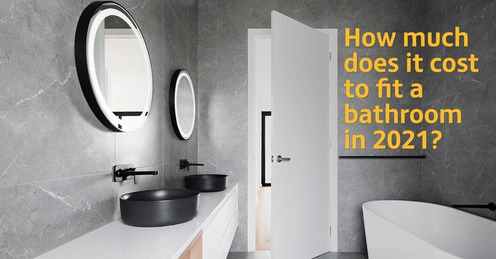 How Much Does It Cost To Fit A Bathroom, Cost Of Putting In A New Bathroom