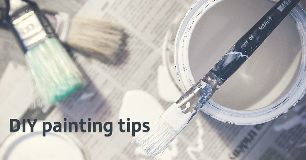 Lockdown DIY - Painting tips