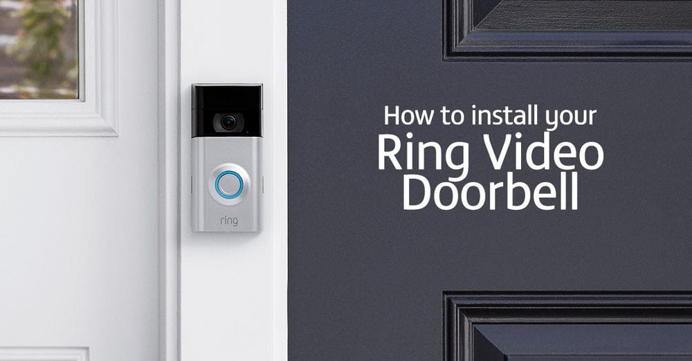 How to install a Ring doorbell