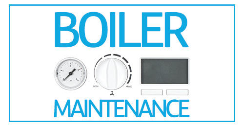 Boiler controls with 'boiler maintenance' superimposed