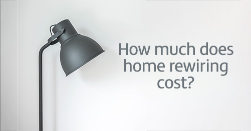 How much does home rewiring cost?