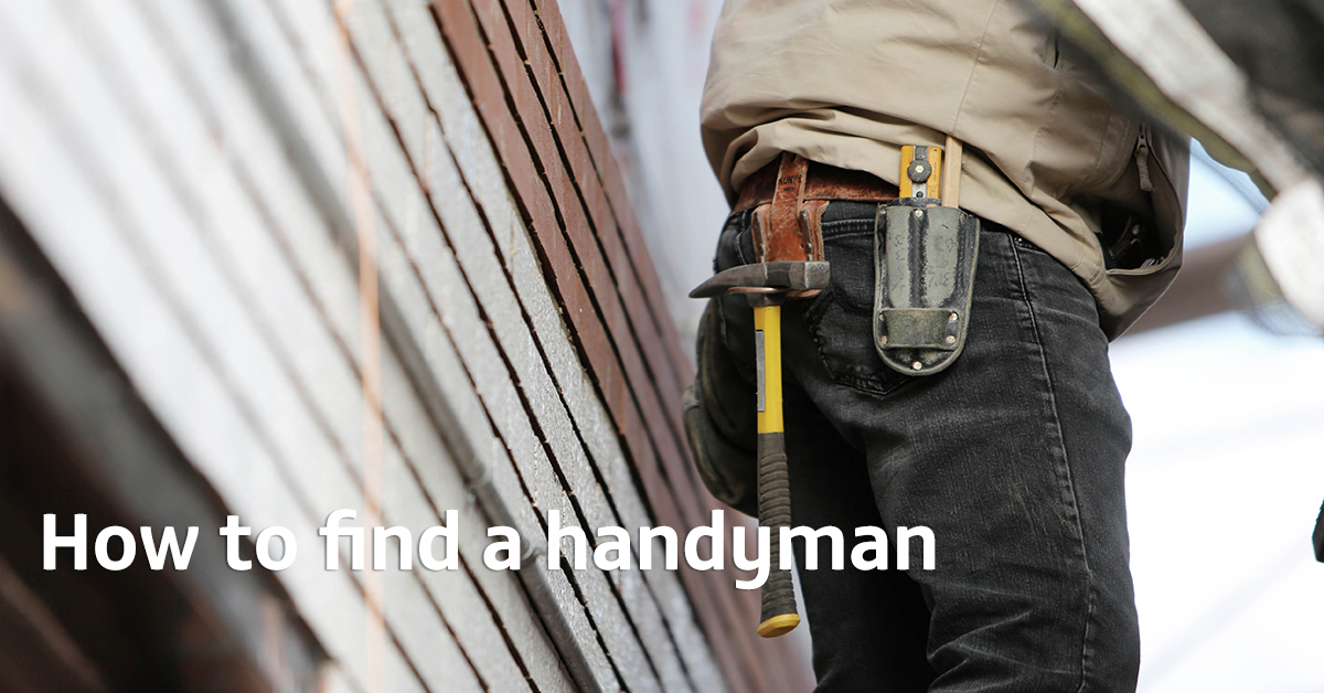 How to find a handyman