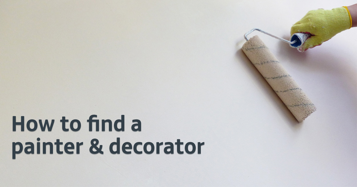 How to find a painter and decorator