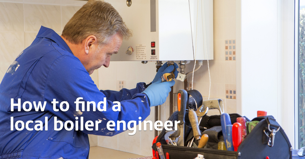 How to find a boiler engineer near me