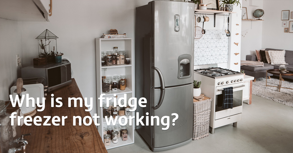 Why is my fridge freezer not working?