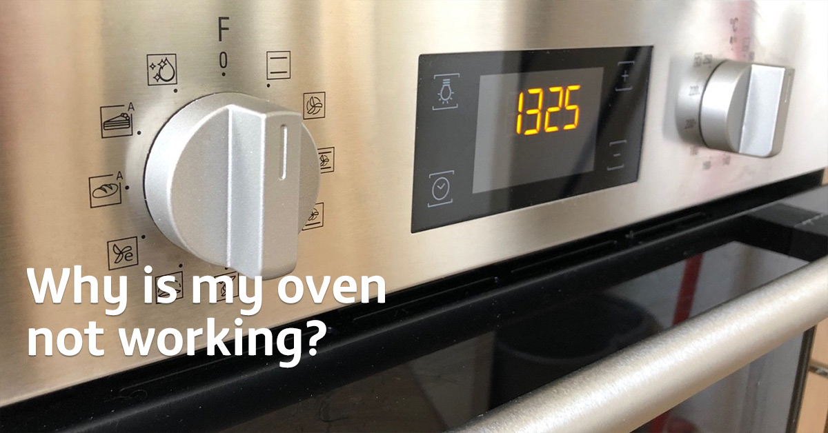 Why is my oven not working?