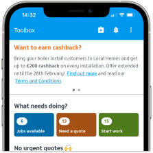 Local Heroes Toolbox App See New Jobs