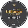 BOC Business Brilliance 2017 logo