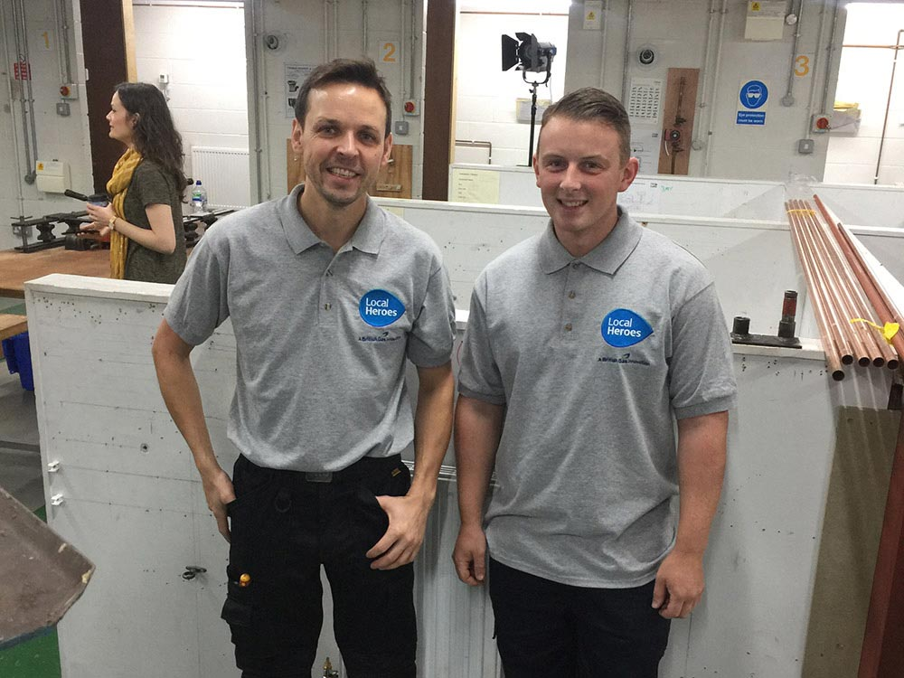 Image of Local Heroes Chris and Alex