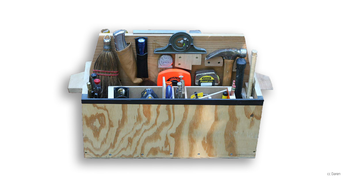 Image of a toolbox, image by Daren